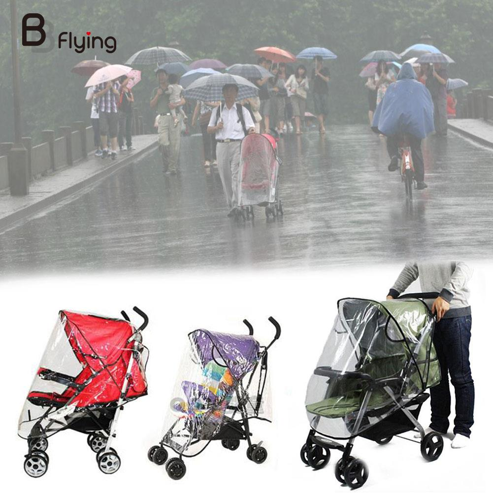 Baby Universal Waterproof Stroller Rain Cover Wind Dust Shield Pushchair Covers Sun Shade Canopy Buggy Pram Jogger Accessories все цены