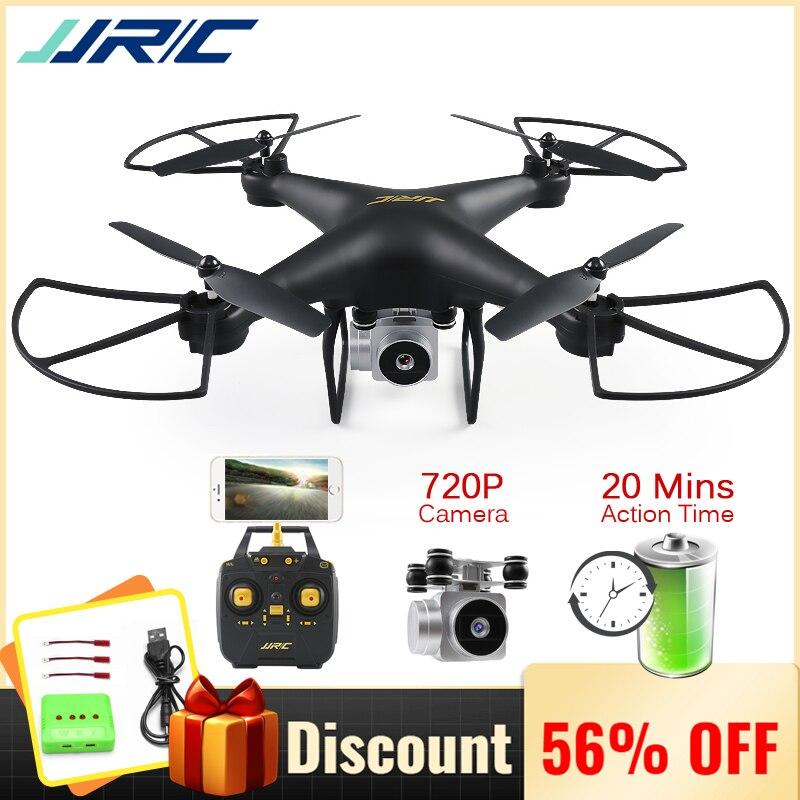 JJRC H68 profesional Drone con cámara 720 p HD Wifi FPV RC Quadrocopter pieza de helicóptero para juguetes de los niños regalo de 20 minutos tiempo de juego