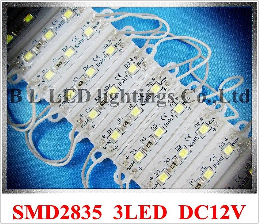36 мм * 09 мм SMD2835 СВЕТОДИОДНЫЙ модуль свет Рекламы Световой модуль для знака письмо dc12v 0.3 Вт 3LED ip66 водонепроницаемый 3609 новый стиль