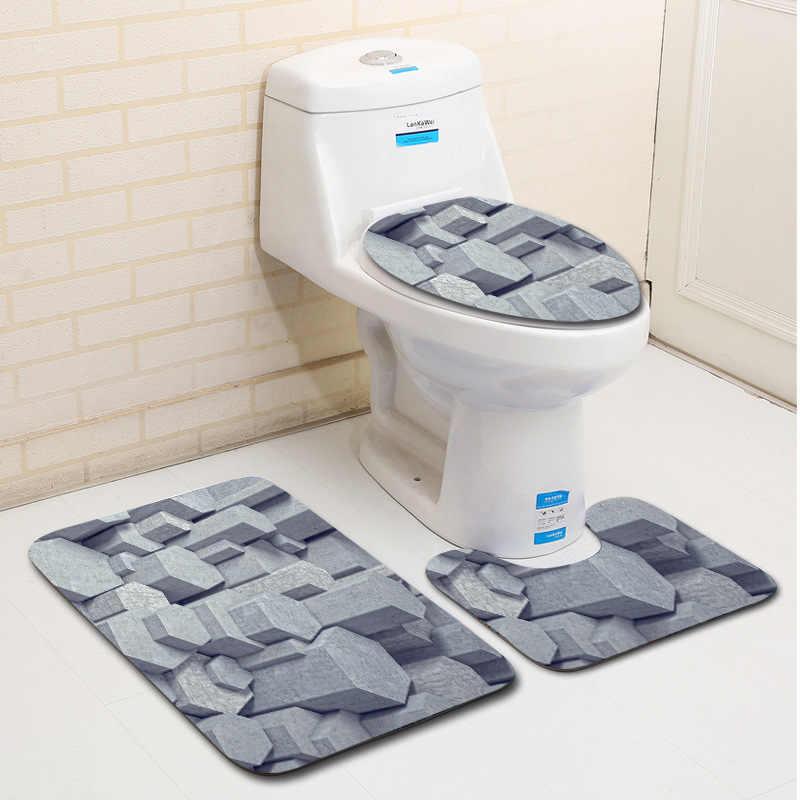 Detail Feedback Questions about T 3D Three dimensional Bathroom Mats ...