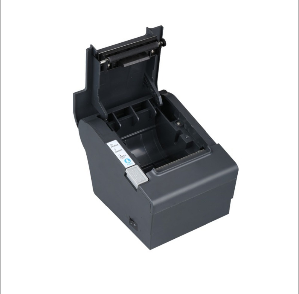 cheap pos 80mm usb receipt ticket thermal printer serial port best price 80mm desktop direct thermal printer for bill ticket receipt ocpp 802