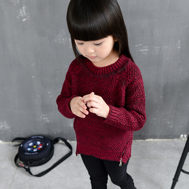 f70e62553 Children Kids Sweater Knitting Fashion Boys Girls Winter Clothes ...