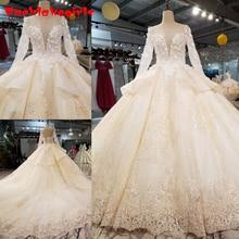 Ball Gown Wedding Dress With Muslim Wedding Dress