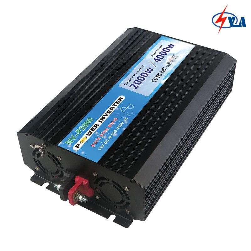 P2000-122 2000W Pure Sine Wave solar inverter 12V DC to 220V AC 50/60Hz электроинструмент makita hp1630k