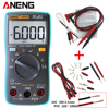 ANENG AN8002 Digital Multimeter 6000 Counts Backlight AC DC Ammeter Voltmeter Ohm Portable Meter