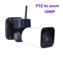 two way talk 1080P WiFi Bullet Outdoor Wireless Waterproof Camera CCTV Security Surveillance 4X Optical Zoom ptz IP Camara mic
