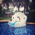 Adults Giant Pool Float Pearl Scallops Inflatable Shell Floating Mattress Lounger With Handle and Decoration Pearl Ball