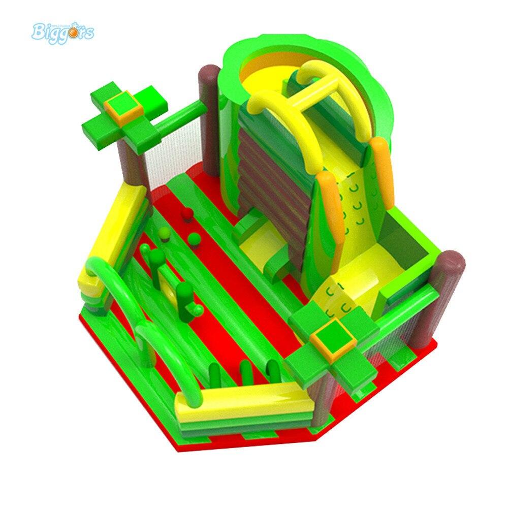купить YARD Inflatable Giant Fun City Inflatable Playground Outdoor Hot Selling Inflatable Bounce House по цене 129127.25 рублей