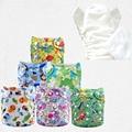 Snap cartoon character aio adjustable kawaii cloth nappies in bulk Free Shipping diapers