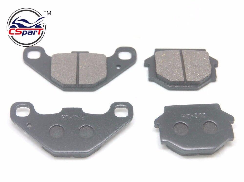 2 Pairs Semi-metallic non-asbestos Brake Pad For KAWASAKI KLE ZZR 250 ZXR250 KLE500 EX500 Honda Suzuki Yamaha