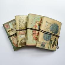 MaoTu Retro Spirale Raccoglitore Ad Anelli Libro del Diario Notebook Epoca Diario di Viaggio Antico Regalo Notebook Carta Kraft bianco
