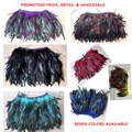 Promotion style in 2017,coque feather mini skirt with elastic waistband 7 colors available #PT17001
