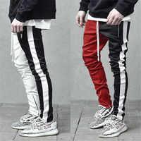 2019 coton hommes vêtements de sport à la mode pantalons hommes décontracté streetwear survêtement fitness pantalon outdooer musculation vêtements pour hommes