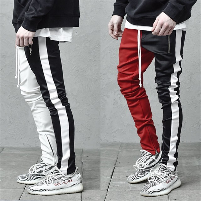2019 Cotton Men's Fashion Sportswear Pants Men's Casual Streetwear Jogger Fitness Trousers Outdooer Bodybuilding Men's Clothing