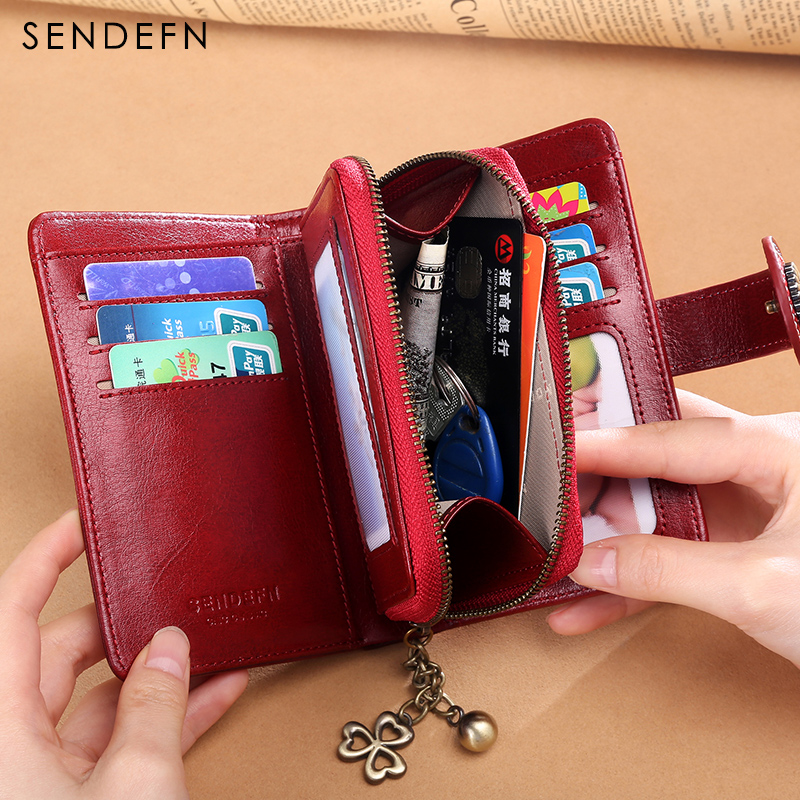 sendefn-2018-new-small-purse-women-split-leather-short-wallet-female-fashion-brand-design-wallet-small-coin-purse-red