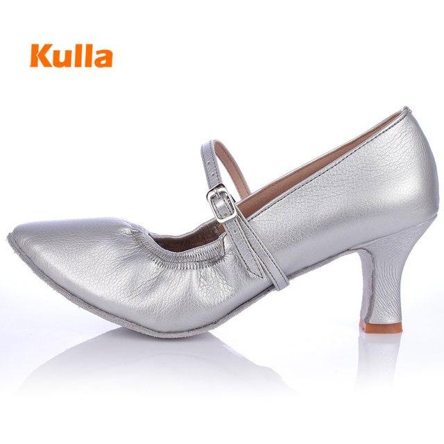 f828437d Nuevo moderno zapatos de baile para niñas salón de baile de Tango Salsa baile  zapatos de