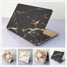 5 Farben Marmor Matte Hard Case für Macbook Air Pro 11 12 13 15 Laptop-tasche Kostenloser Versand