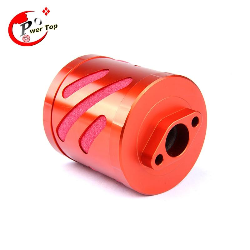 FVITEU New CNC Alloy Air Filter kit for 1/5 HPI BAJA 5B ss Parts Rovan king motor