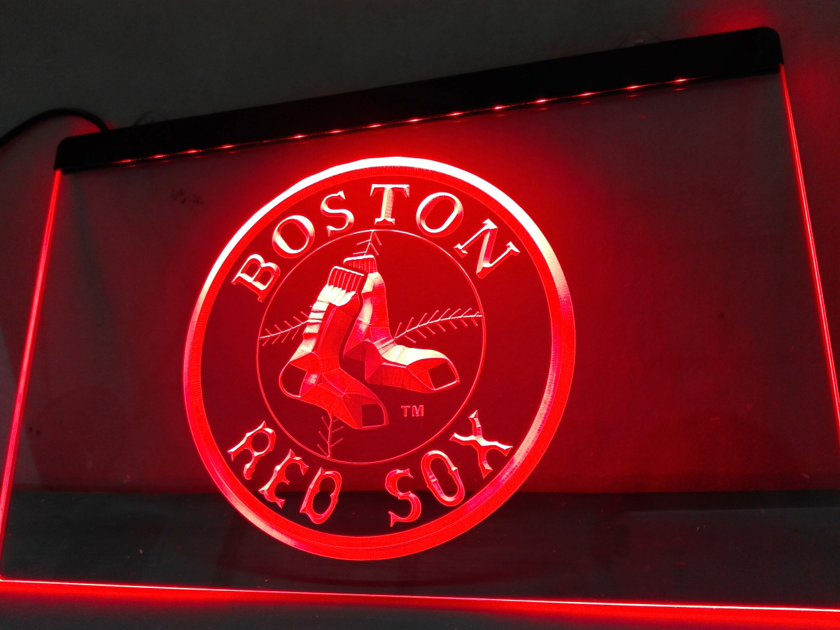 Ld113 Boston Red Sox Baseball Bar Led Neon Light Sign In Plaques Signs From Home Garden On Aliexpress Alibaba Group