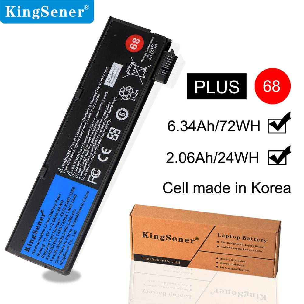 KingSener X240 <font><b>Battery</b></font> for <font><b>Lenovo</b></font> Thinkpad X270 X260 T560 X240S X250 T450 T470P T450S <font><b>T440</b></font> T440S K2450 W550S 45N1136 45N1134 68 image