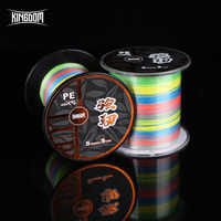 Kingdom Fishing Line 300 and 500 Meters PE 9 Strands Weaves PE braid line 15 - 65 LB Super Strong line Multifilament For Fishing