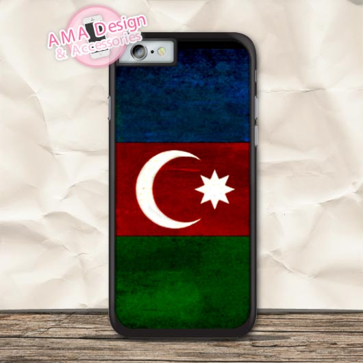 Azerbaijan Grunge Flag Protective Case For iPhone X 8 7 6 6s Plus 5 5s SE 5c 4 4s For iPod Touch