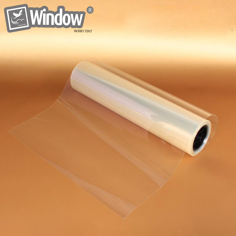 New 50 x 300cm Thicknes 50 micron Safety Security Clear Window Film Glass Protection Anti Shatter