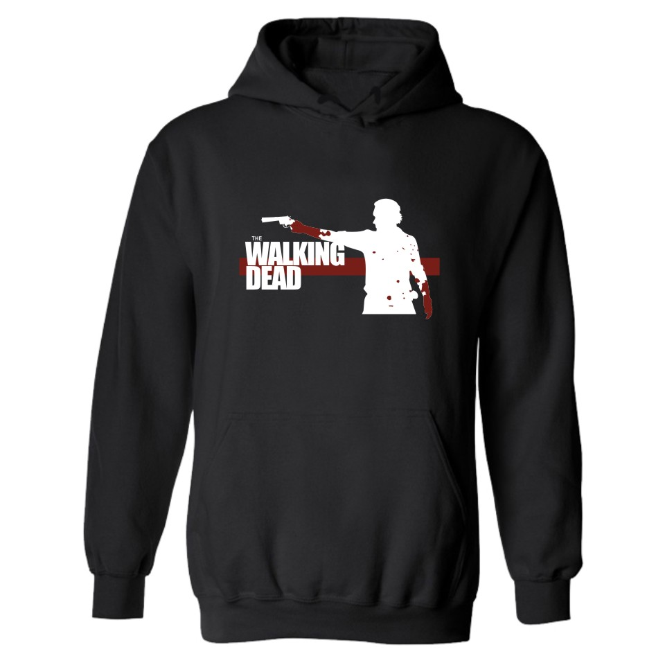 The Walking Dead Zombies Fashion Hooded Punk Hoodie Men In Trendy Style Plus Size Hoodies And Sweatshirts Streetswear