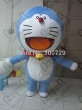 export high quality Classic jingle cat mascot costume/customizable doraemon doraemon mascot costume