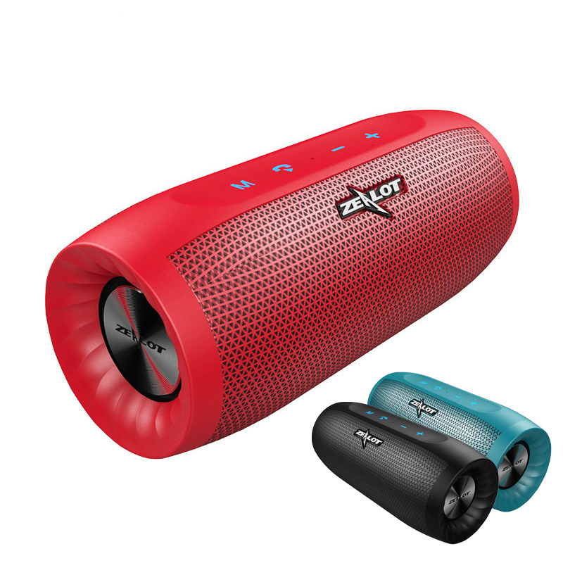 Bluetooth 4.2 Portable Speaker Wireless Soundbar Audio Receiver Mini Speakers USB AUX for Music MP3 Player with 14-Hour Playtime