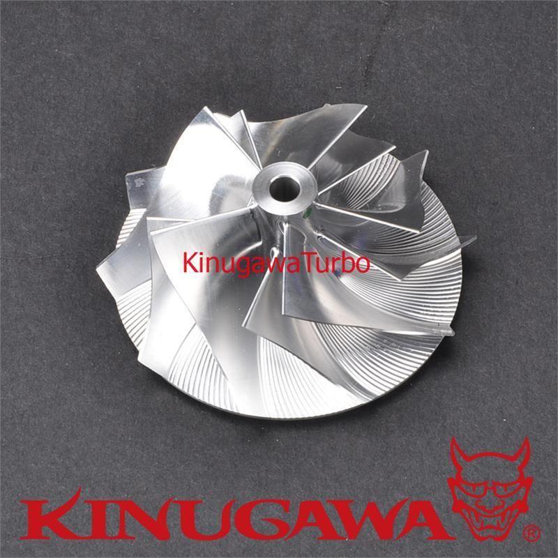 Kinugawaturbo roue de compresseur Turbo pour TOYOTA CT20 2JZ-GTE JZA80 (39/58mm) 5 + 5 lame