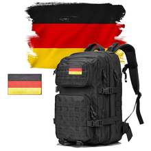 Germany Logo Military Tactical Backpack 50L Men Outdoor Army Molle 1000D Waterproof Bag Hiking Camping Hunting Mountaineering