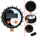 1pc New NP-60 G1/4 Digital Pressure Gauge 0-200PSI Battery Power Gas Tester Tool DC 3V