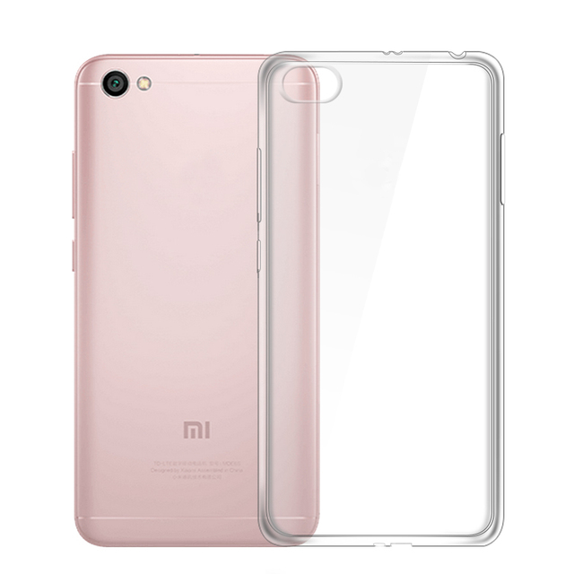hot sales 65d27 541f6 for Redmi Y1 Lite Case,Slim Crystal Clear Transparent Soft TPU Cover for  Xiaomi Redmi Note 5A(2G RAM/16G) Silicon Case Shell Bag-in Fitted Cases  from ...