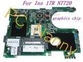 PARA Dell Inspiron 17R N7720 7720 Intel HM77 Motherboard CN-072P0M 72P0M DA0R09MB6H1 Probado