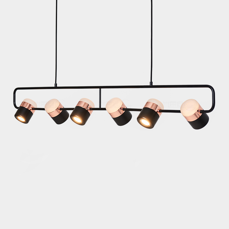 Us 52 08 79 Off Modern Rose Gold Led Chandelies Lighting Dinning Room Parlor Bedroom Rotatable Hanging Lamp Luminaire Kitchen Light Fixture In