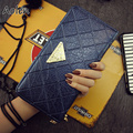 Aolen women wallets famous brands ladies purse women wallets genuine leather long clutch bag walet womens luxury wallet brand