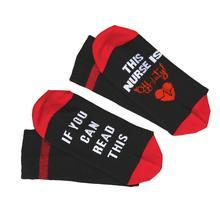 Nurse Is Off Duty Socks Cotton Casual Female Socks
