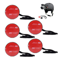 5pcs Camera Tethers Kit  Insurance Tether Straps +3M Sticker Mounting for GoPro Hero 1/2/3/3+/4