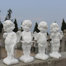 Pastoral Resin Angel Love God Cupid Figurines Crafts Outdoor Garden Statue Decoration Courtyard Park Villa Sculpture