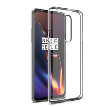 Soft Transparent TPU Silicone Case For Oneplus 7 Pro Back Cover For Oneplus 7 Protective Shockproof Case Fundas Capa Housing