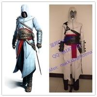 2016 Hombres Chaqueta de los Hoodies Trajes Revelación Assassin Altair Cosplay Anime Cosplay Traje de Halloween Uniformes