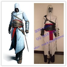 2016 Males Hoodies Jacket Costumes Revelation Altair Cosplay Costume Murderer Anime Cosplay Outfit Halloween Uniforms