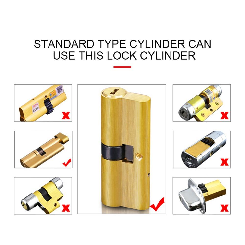L5PC+Plus Adjustable European Smart Wireless Door lock Cylinder ...
