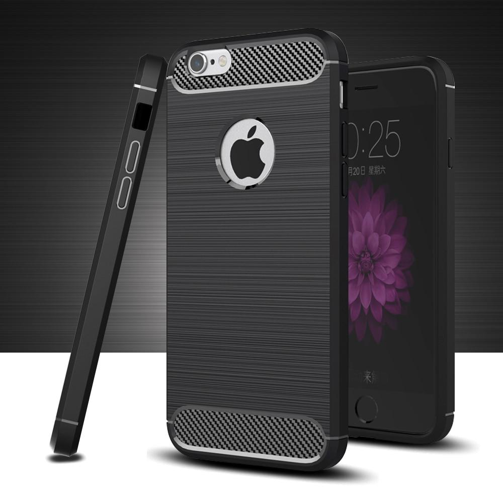 Silikonhülle für iPhone 6 Hülle Rücken Stoßstange 3D Textur TPU - Handy-Zubehör und Ersatzteile