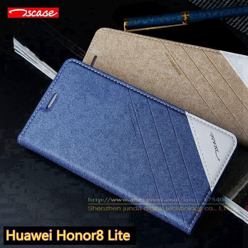 bilder für Case abdeckung für huawei honor 8/honor 8 lite ursprüngliche tscase marke, Top Qualität Leder Magnet-schlag-stand Luxus Handys