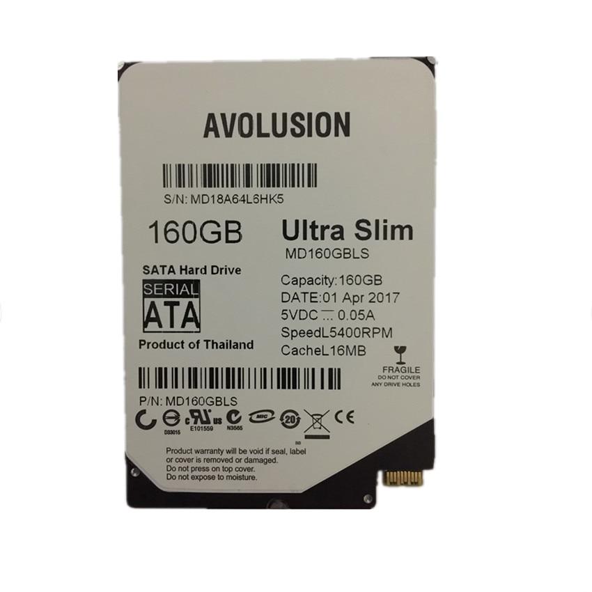 160gb 2.5 pulgadas UltraSlim 5MM 16MB 5400RPM SFF-8784 Garantía SATA - Componentes informáticos