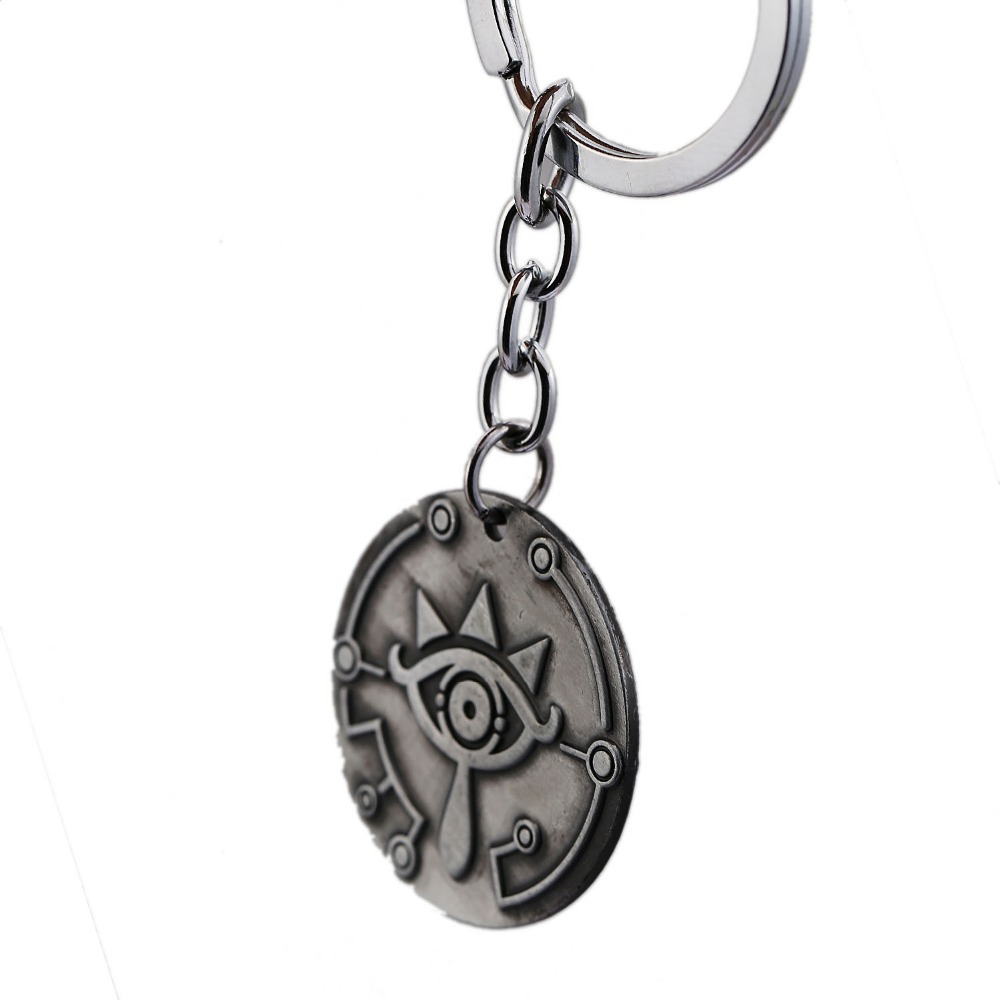 The Legend of Zelda Keychain Game Breath of the Wild Key Ring Holder Metal Fashion Car Chaveiro Key Chain Pendant Jewelry