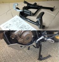 Motorcycle Black Centerstand Center Stand W/ Mounting for Honda Africa Twin CRF1000 CRF1000L CRF1000LD 2016 2017 2018 16 18 17