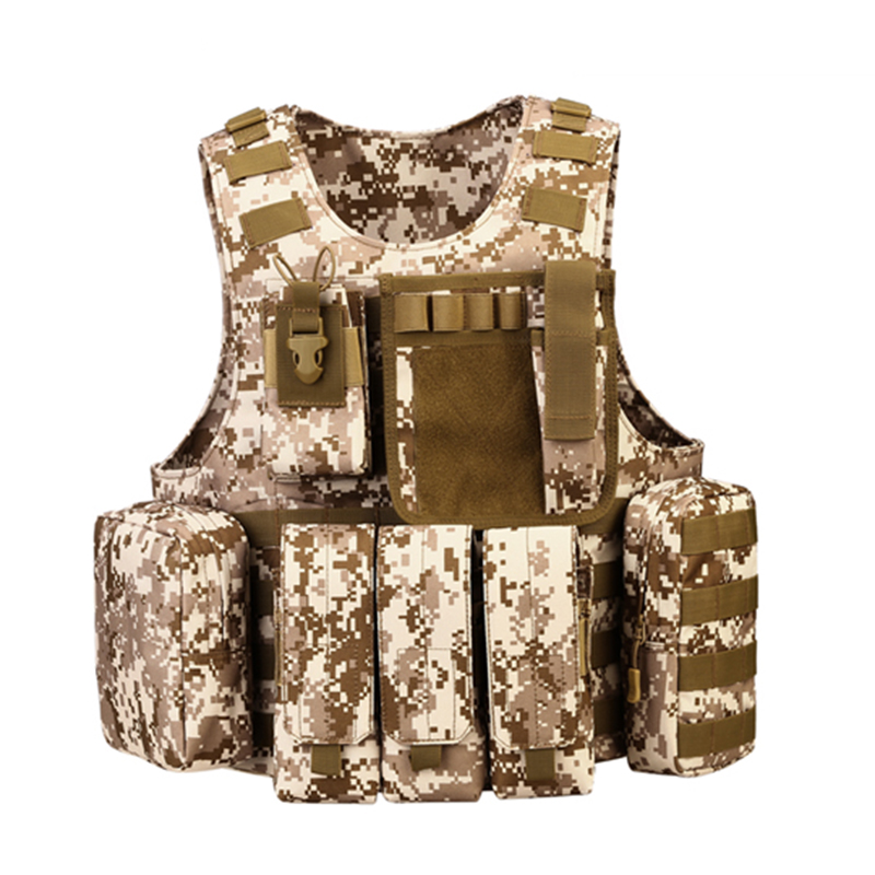Military Vest CS War game Body Armor Sports Wear Hunting Tactical Vest Four Seasons Outdoor Products Equipment